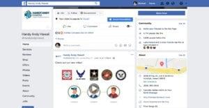 Handy Andy Hawaii Facebook Marketing Services